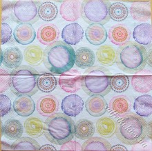 watercolours circles