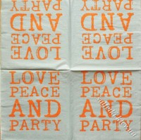 Love Peace and party