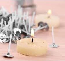 как выбрать фитиль для изготовления свечи