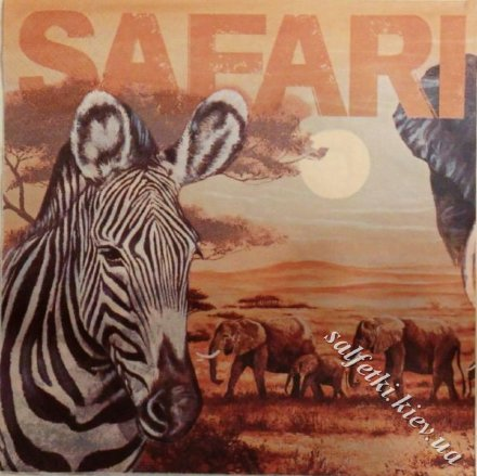 safari collage 33 х 33 см