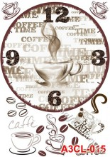 "часы ""Coffee time"" (А3)"