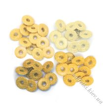 Люверси Wide Eyelets – Shimmer Yellow