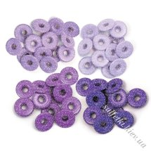 Люверси Wide Eyelets – Shimmer Purple