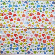 colourful hearts mix
